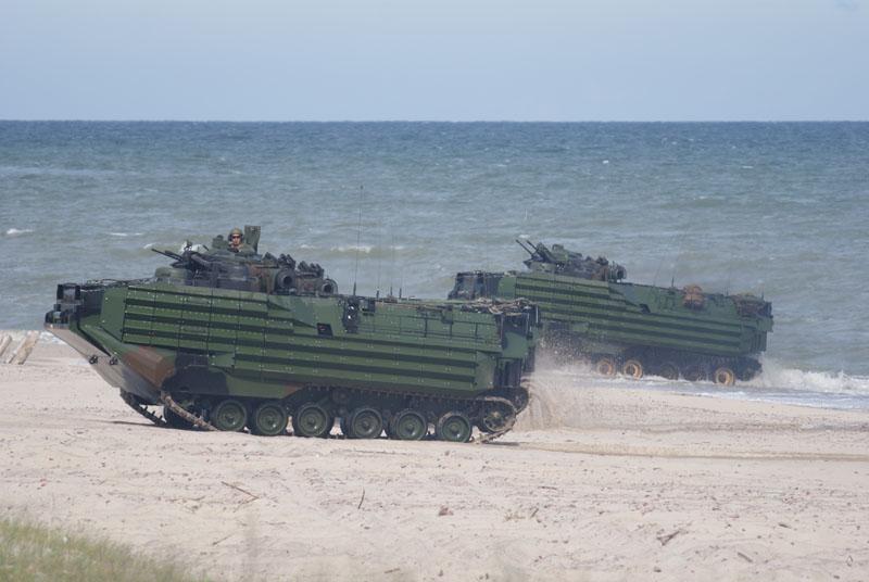 Tajwan chce pozyskać kolejną partię amfibii AAV-7 z dodatkowym opancerzeniem EAAK.