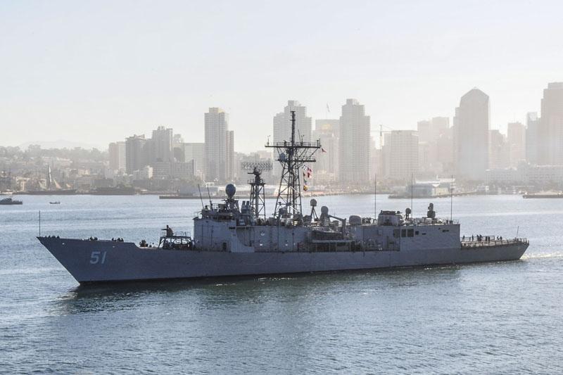 USS Gary, jedna z fregat która może trafić do Tajwanu w ramach autoryzowanego pakietu uzbrojenia