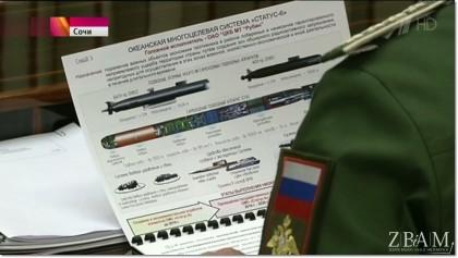 Tyle dało się zobaczyć w rosyjskiej telewizji na temat programu Status-6. Niedopatrzenie? Raczej nie…