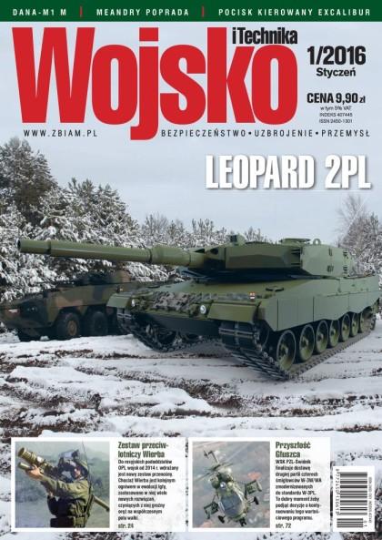 Wojsko i Technika 1/2016 - okładka