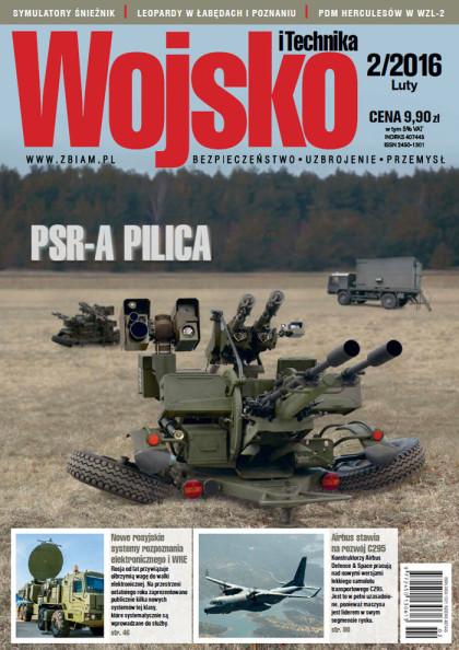 Wojsko i Technika 2/2016 okładka