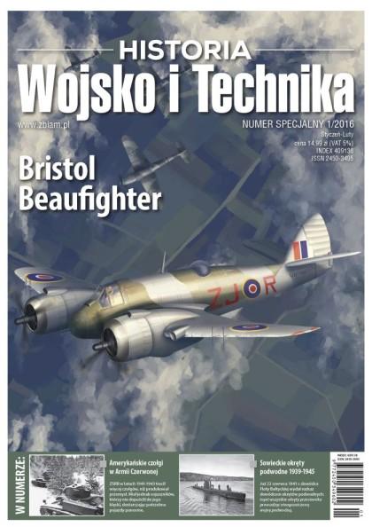 Wojsko i Technika – Historia numer specjalny 1/2016 - okładka