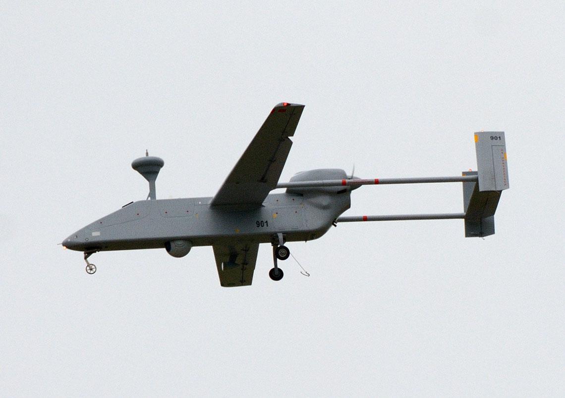 Bezzałogowy rozpoznawczy system powietrzny Forpost.