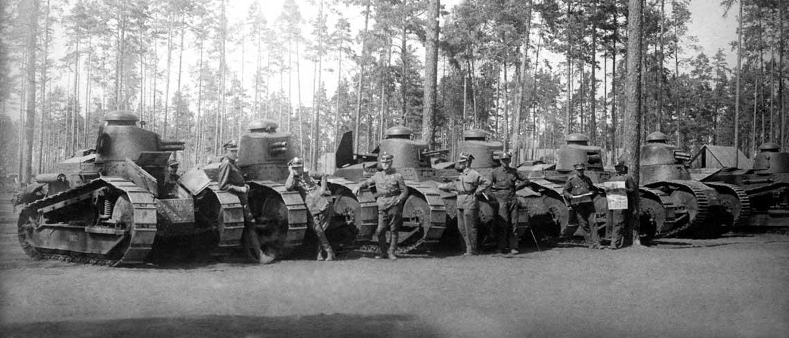 Czołgi Renault FT w Wojsku Polskim.