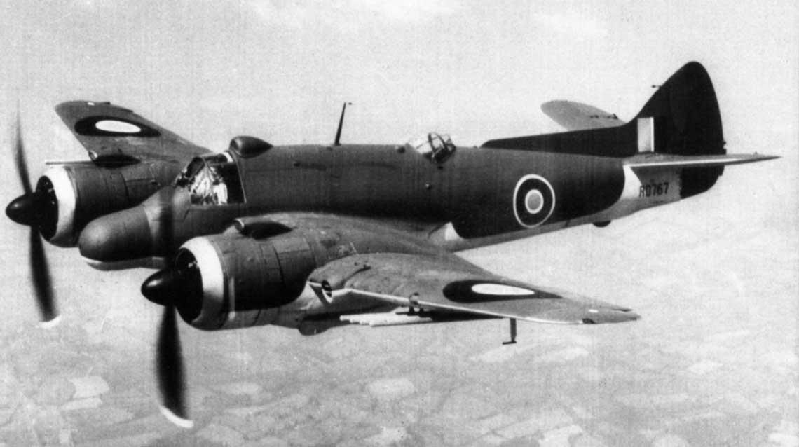 Samolot myśliwski Bristol Beaufighter
