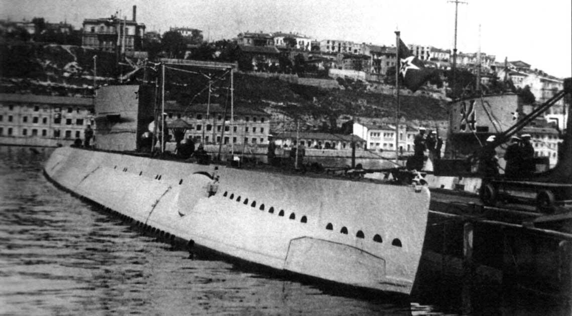 Sowiecka flota podwodna 1922-1941