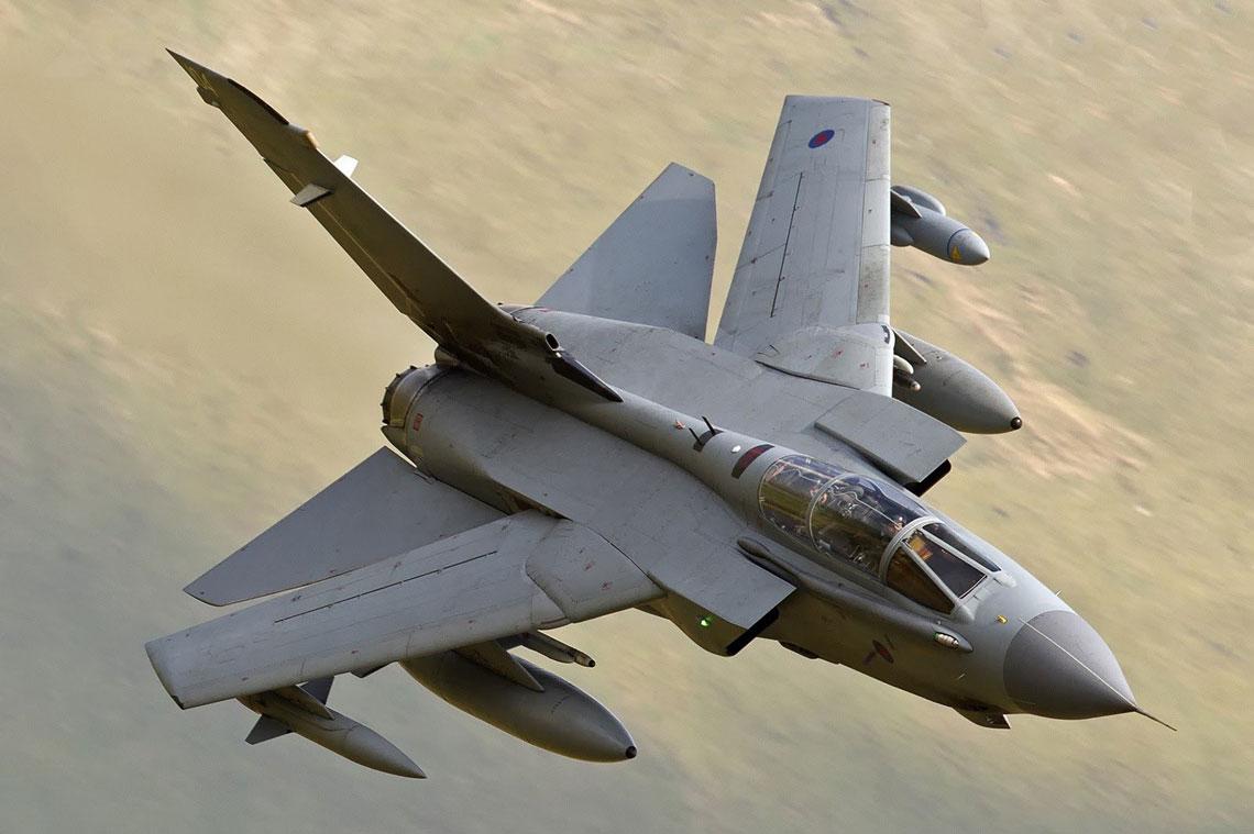 Samolot myśliwsko-bombowy Panavia Tornado