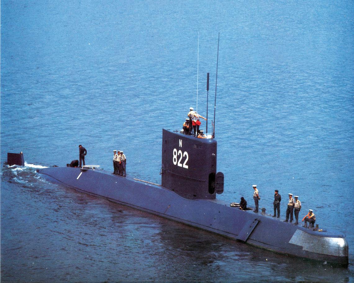 Jugosłowiańskie okręty podwodne. Okręt podwodny Junak projektu B‑71.