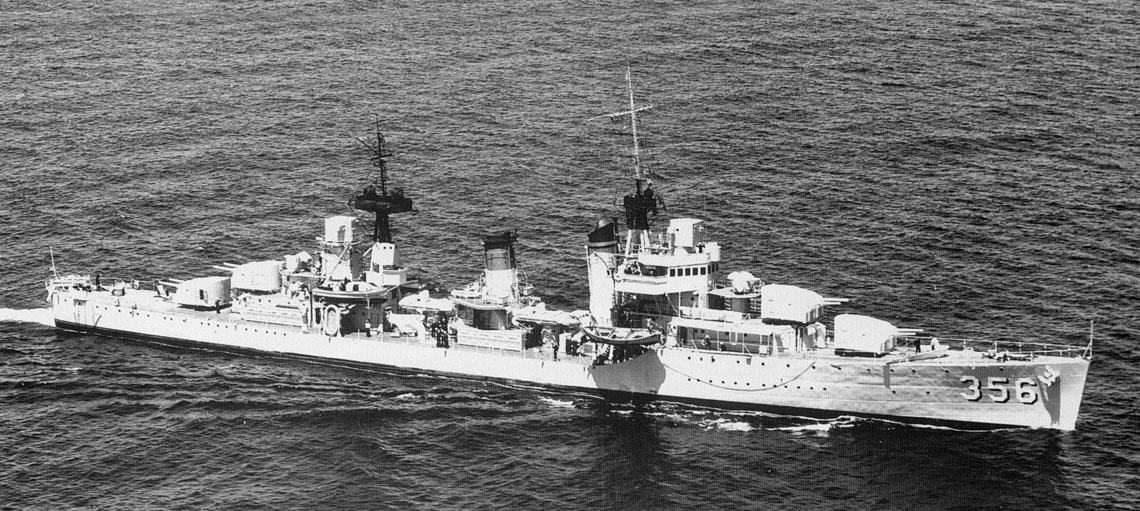 Niszczyciel USS Porter krótko po wejściu do służby. Trójnożne  maszty, dwa dalocelowniki  i potężna artyleria nadawały  jednostkom tego typu wygląd  małych krążowników.  Fot. US Navy