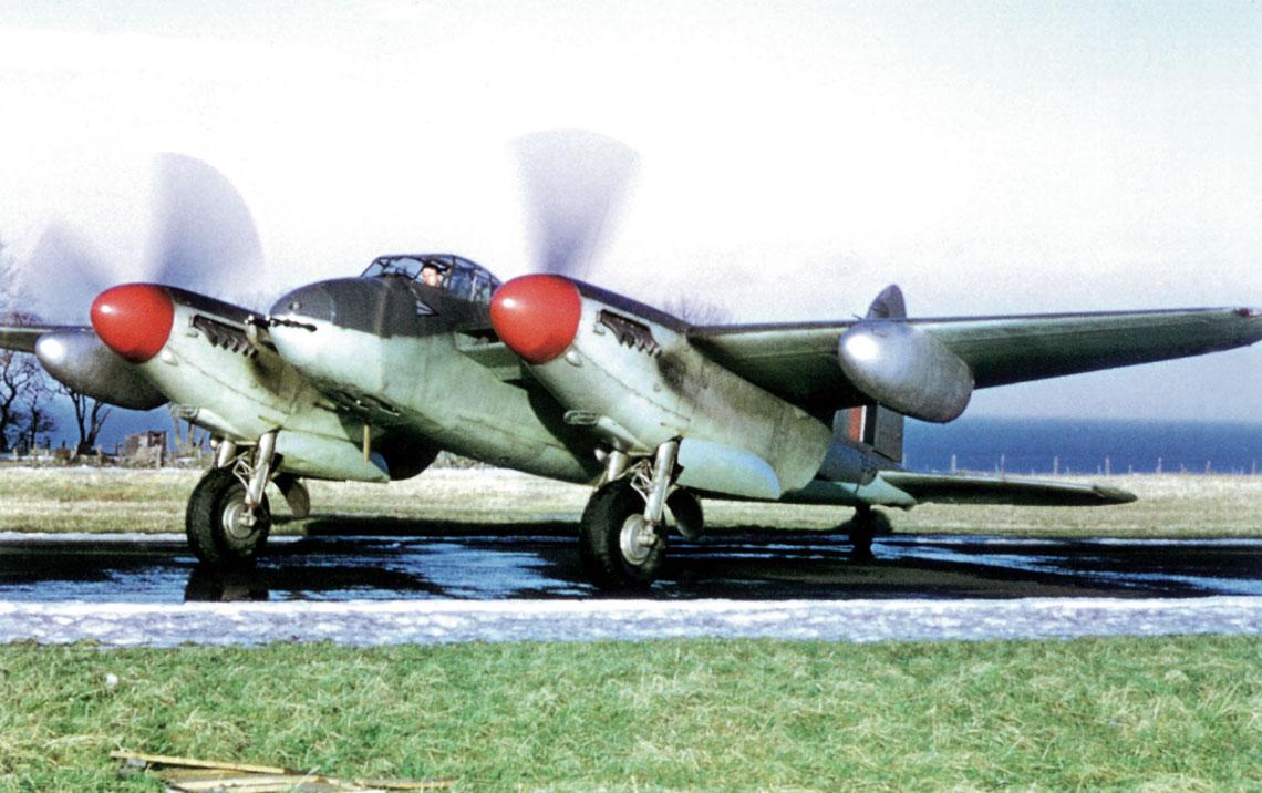 Samolot de Havilland Mosquito