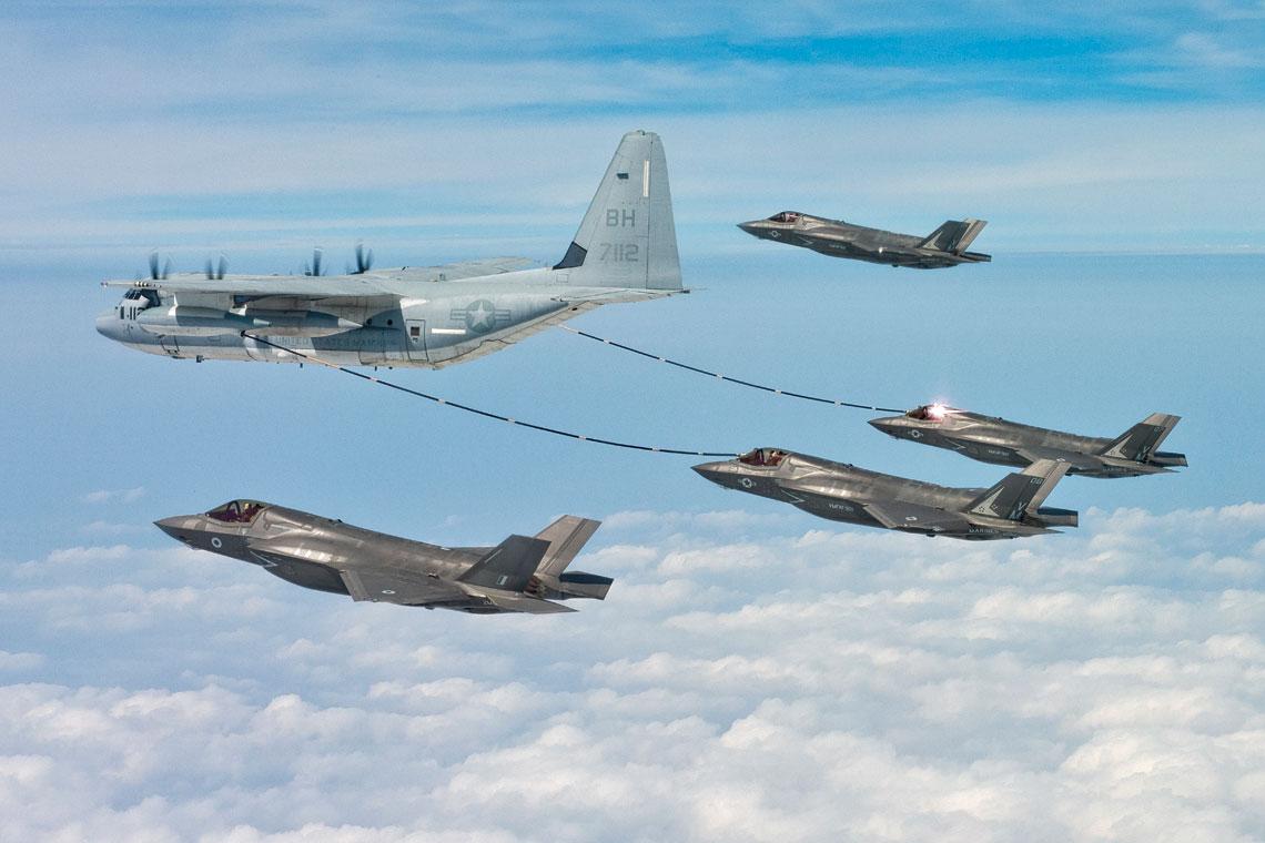 W bieżącym roku możemy być świadkami przebazowania do Wielkiej Brytanii kilku F-35B, które zadebiutują na pokazach lotniczych.