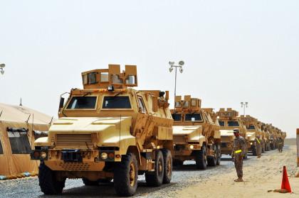 W magazynach US Army, sądząc z danych EDA, pozostała jeszcze pokaźna liczba MRAP-ów rodziny Caiman.