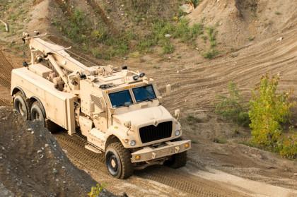 Ciekawym pojazdem, oferowanym wielu państwom, jest wóz wsparcia technicznego MaxxPro ARV na bazie MRAP-a.