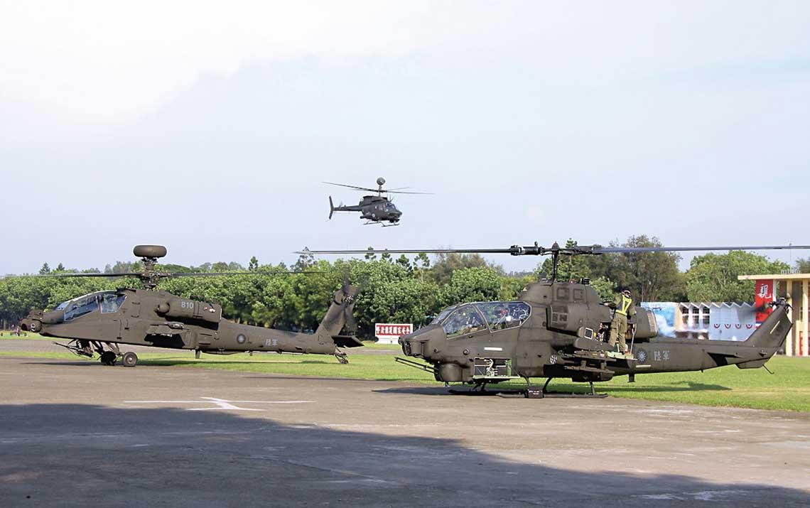 Tajpej rozważało modernizację AH-1W do standardu AH-1Z i dokupienie fabrycznie nowych Viperów, skończyło się jednak na zakupie Guardianów.