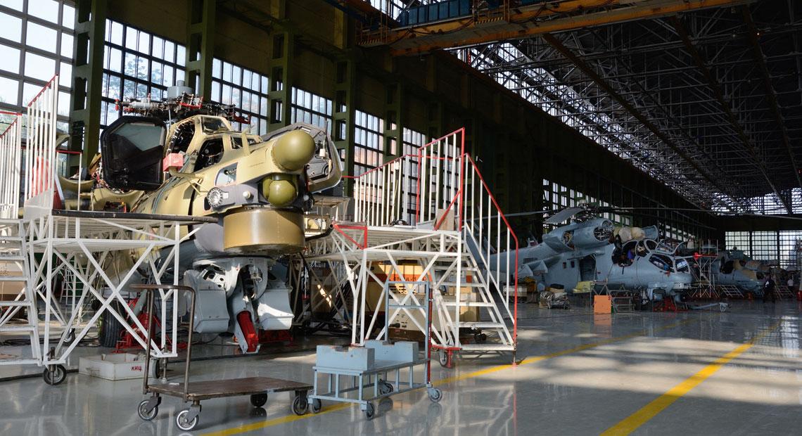 Rosyjski przemysł śmigłowcowy u progu problemów