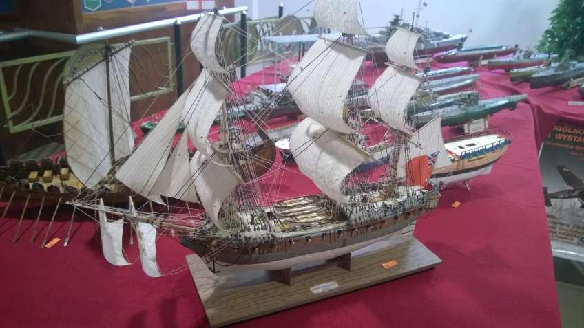 model żaglowce HMS Cleopatra