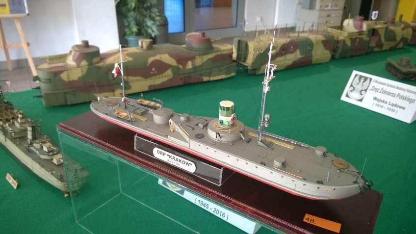 model monitora rzecznego ORP Kraków