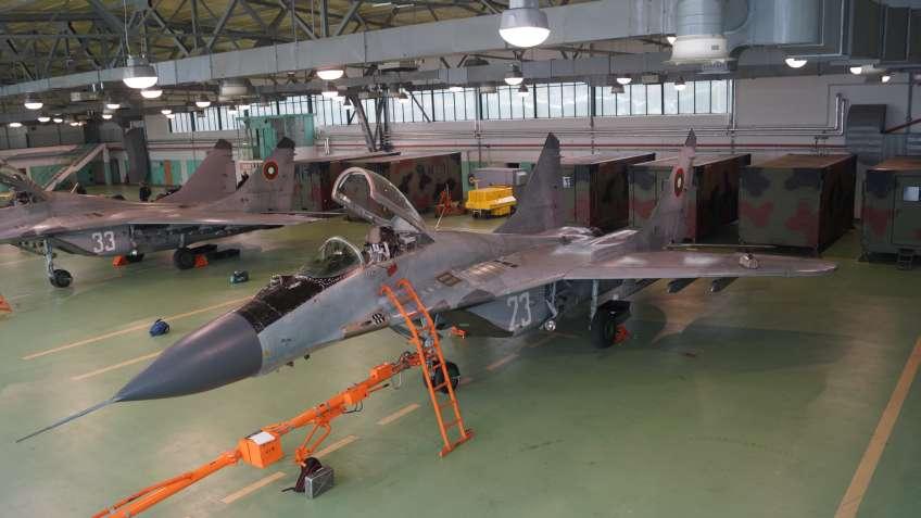 Bułgarskie lotnictwo poszukuje ośmiu nowych samolotów, które będą uzupełniać używane obecnie MiG-i-29.