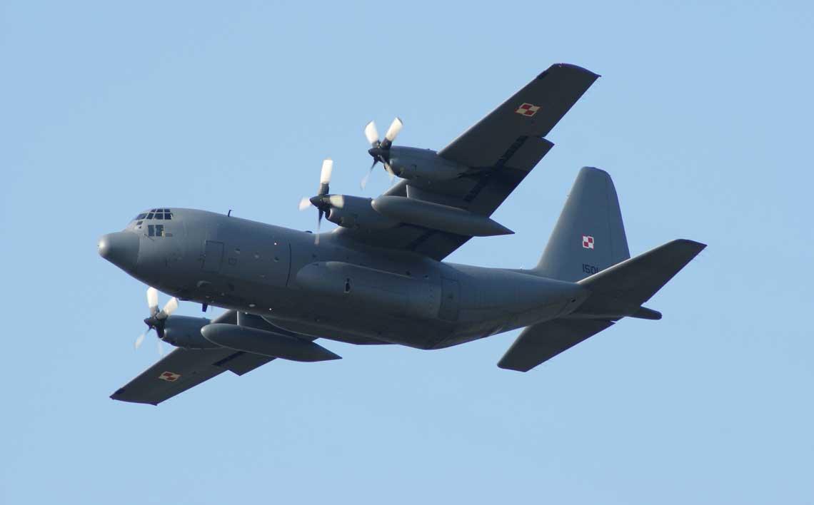 Wsparcie eksploatacji C-130E Hercules siłami Wojskowych Zakładów Lotniczych nr 2 S.A.