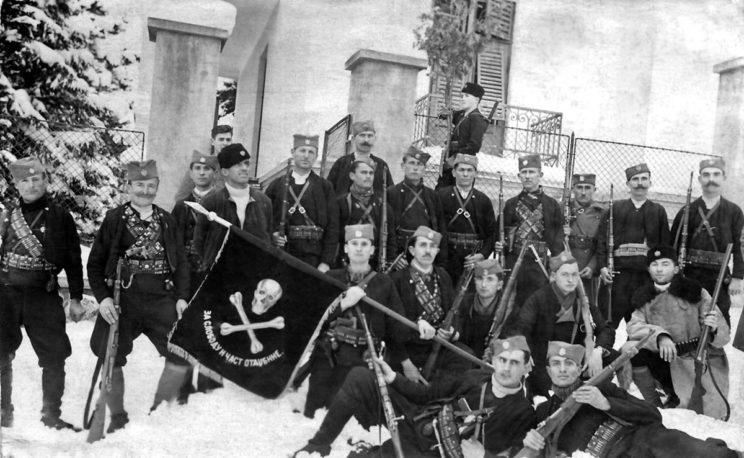 Czetnicy opowiadali się po stronie koalicji antyniemieckiej, choć ze względów taktycznych zawierali porozumienia także z dowódcami wojsk niemieckich i włoskich w Jugosławii.
