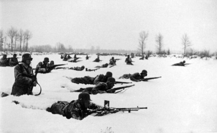 …Wkraczając do Bośni Niemcy ogłosili, że ich działania są skierowane jedynie przeciwko partyzantom komunistycznym, którym w krótkim czasie zadali znaczne straty.