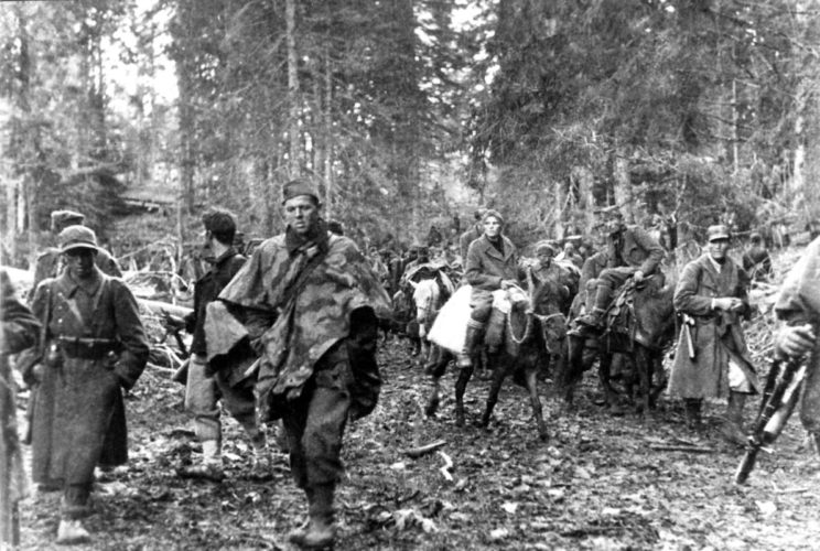 Kiedy partyzanci wydostali się na północ, usunęli wojska okupacyjne i administrację Osi z kilku miast, a także całych okolic – znów ustanawiając region, do którego okupant nie miał dostępu.