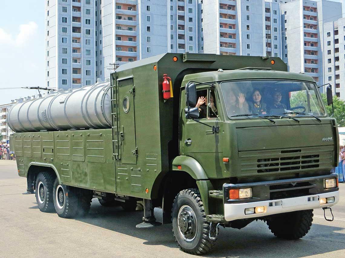 S-300P Kim Dzong Una