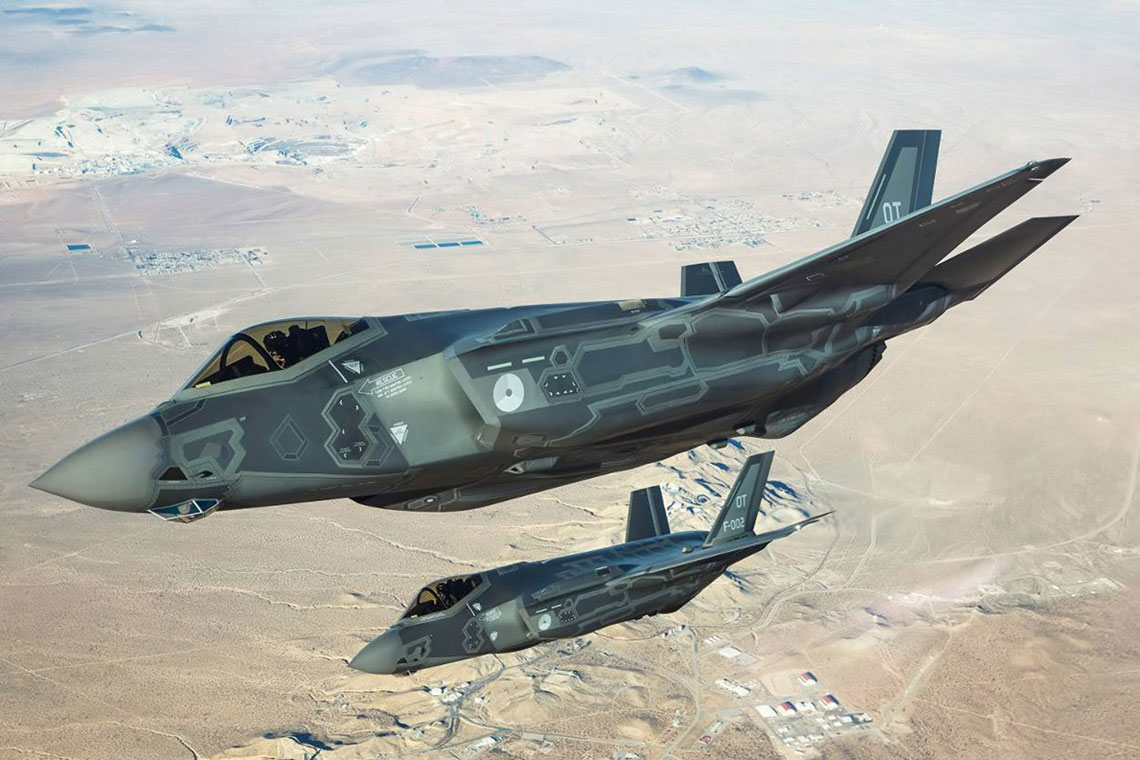 Europejski debiut F-35 Lightning II