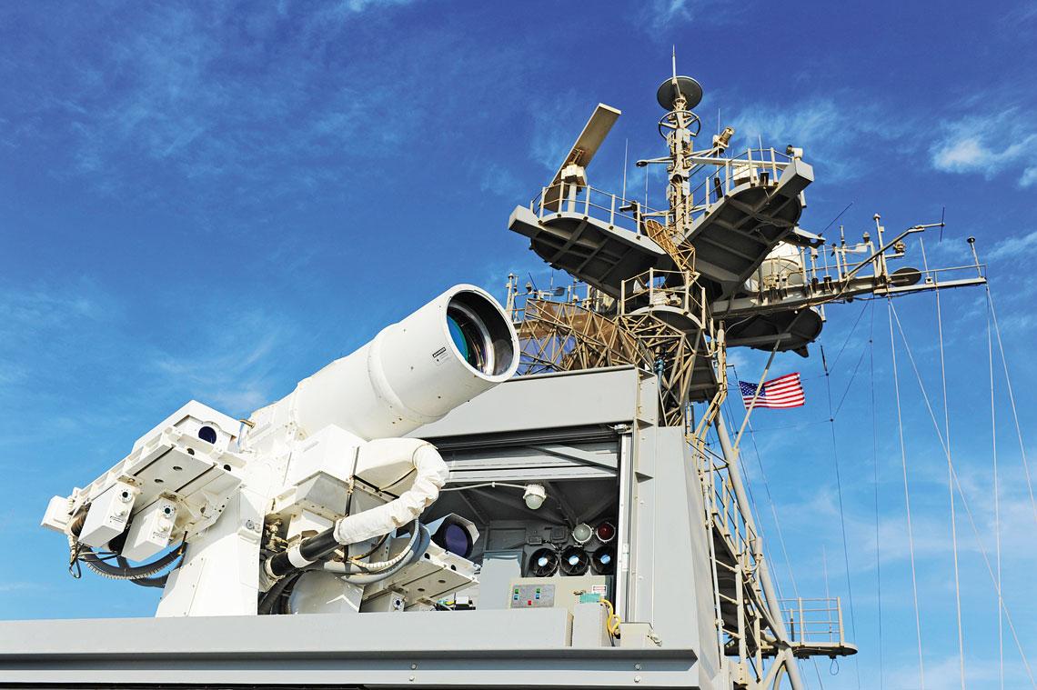 Broń energetyczna US Navy cz. I Lasery