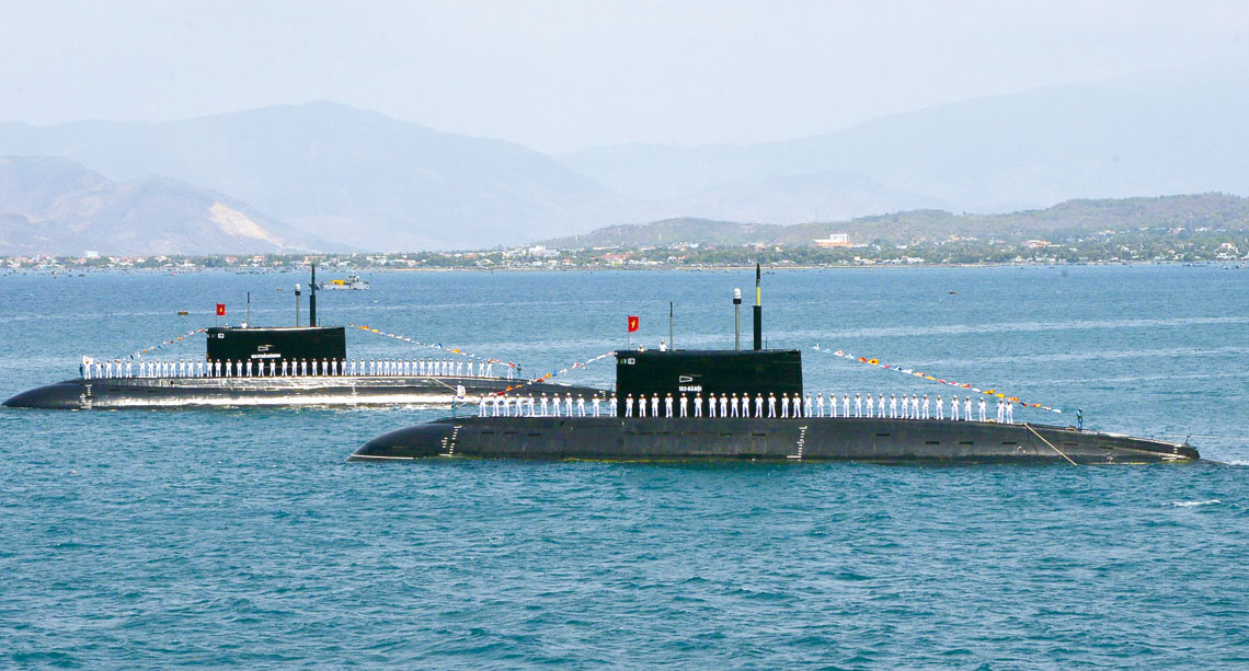 Najpoważniejsze wzmocnienie floty Wietnamu w ostatnim czasie, to zakup sześciu okrętów podwodnych projektu 06361. Fot. MO Wietnamu