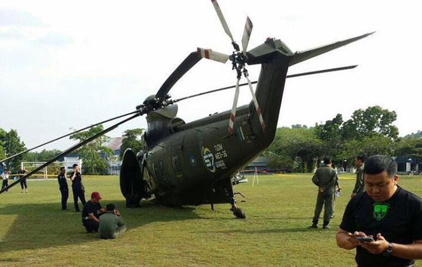 Malezyjski-Sea-King-po-awaryjnym-lądowaniu_