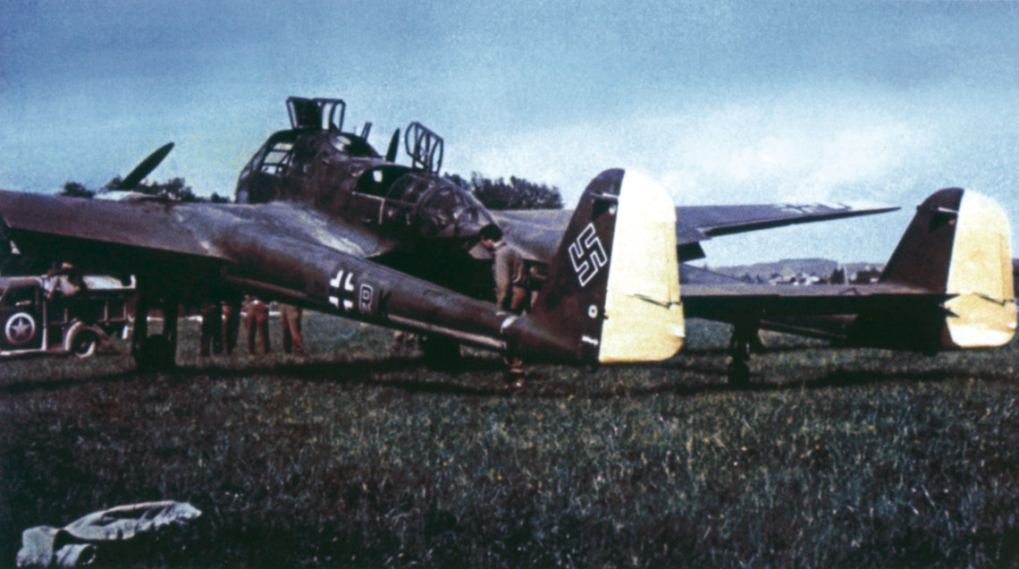 Samolot rozpoznawczy Focke Wulf Fw 189 Uhu cz.2