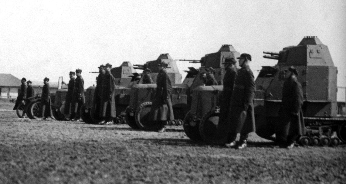 Samochody pancerne w Wojsku Polskim w latach 1921-1939