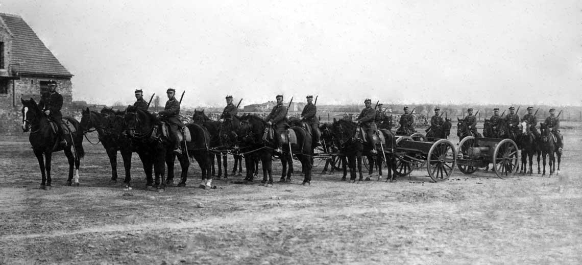 Kto do artylerii konnej? Struktura społeczna i narodowościowa w dywizjonach artylerii konnej
