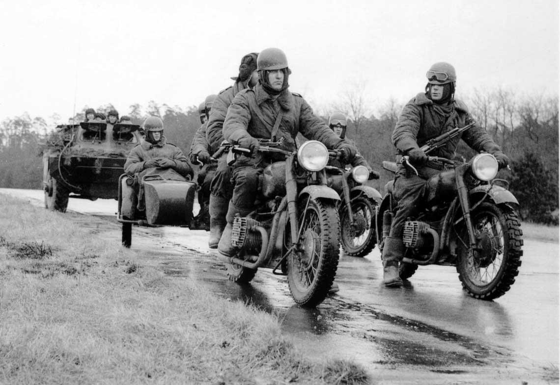 Motocykle w Ludowym Wojsku Polskim 1943-1989