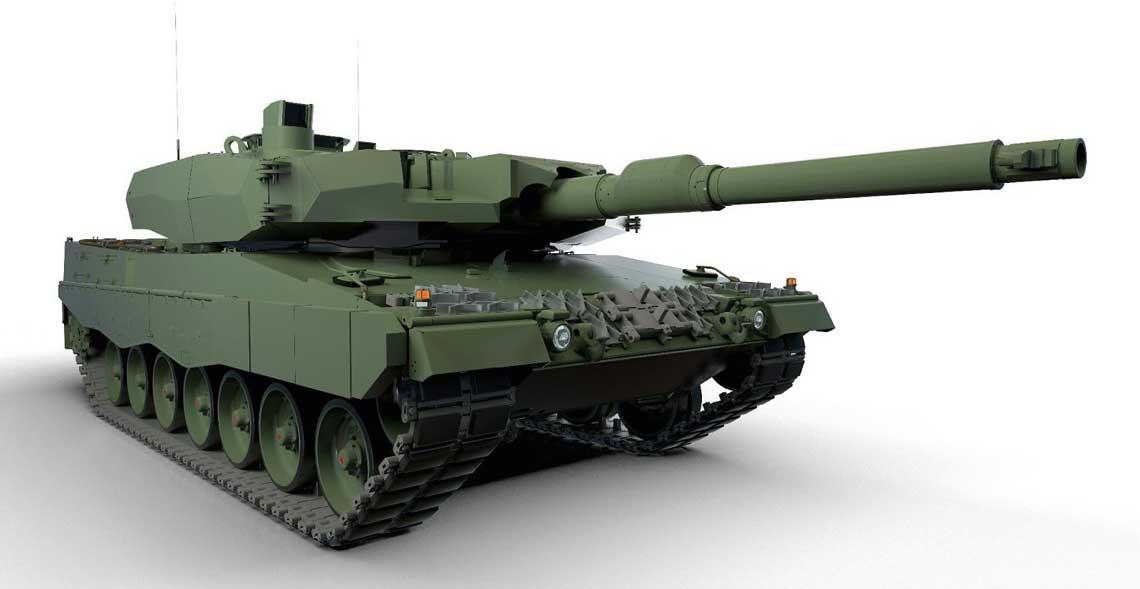 Tak ma wyglądać polska modernizacja czołgów Leopard 2A4 do wersji Leopard 2PL. Ma nią zostać objętych 128 wozów z opcją na kolejnych 14.