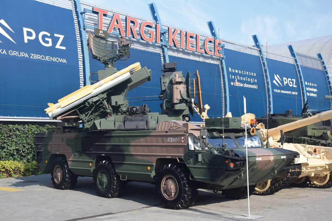 XXIV MSPO. Obrona przeciwlotnicza i przeciwrakietowa