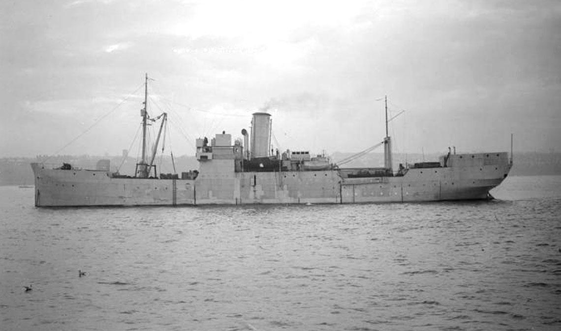 HMS Fidelity. Fot. IWM