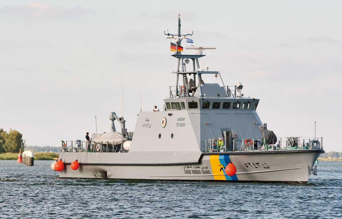 Jeddah powraca z prób morskich 15 sierpnia br.
