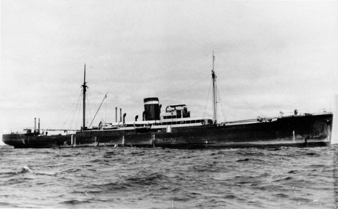 Krążownik pomocniczy Orion, Atlantyk lipiec 1940 r.