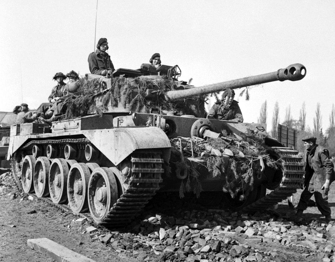 Ostatnie brytyjskie czołgi krążownicze