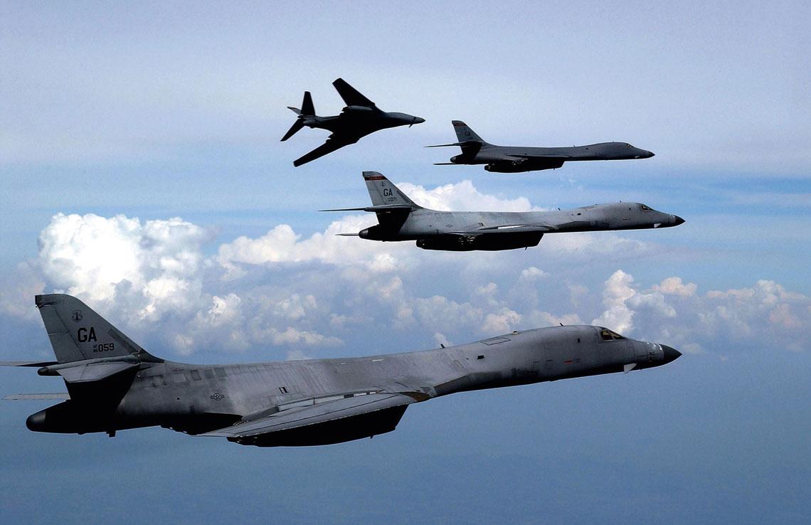 Co dalej  z samolotami bombowymi B-1B Lancer?