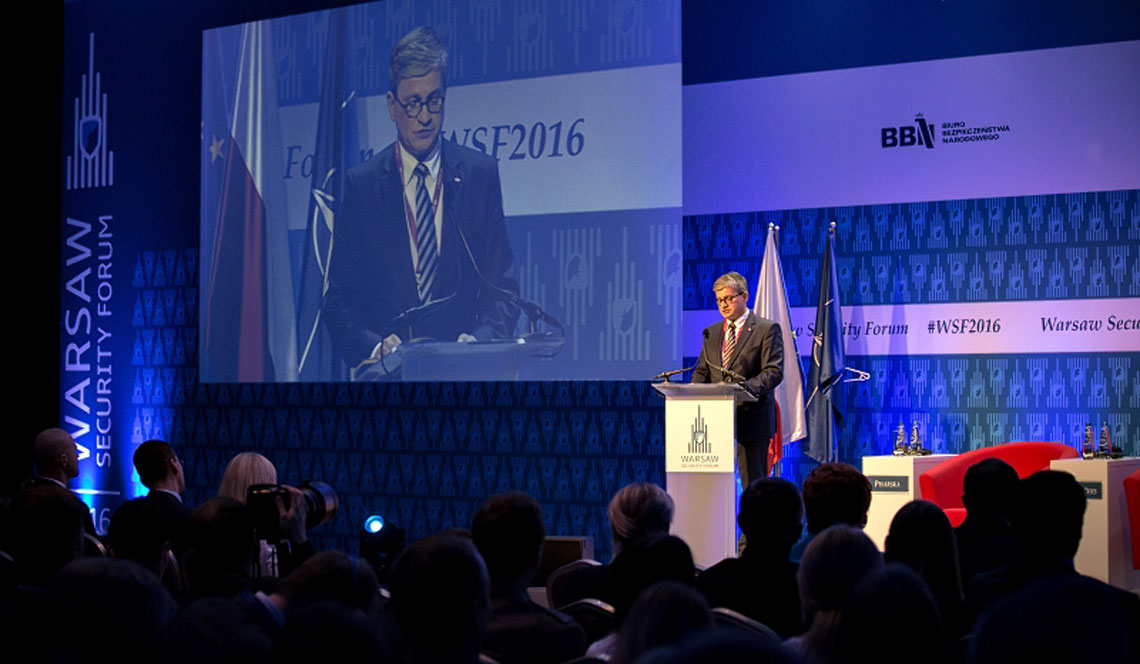 Warsaw Security Forum 2016