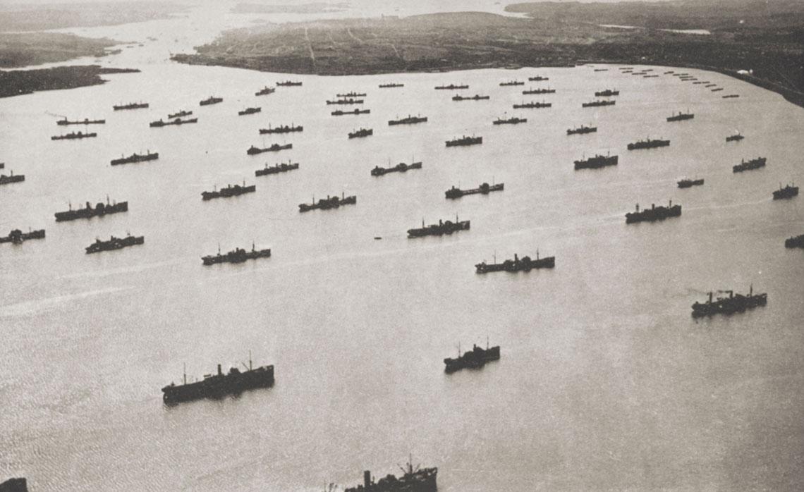HMS Fidelity i konwój ONS154