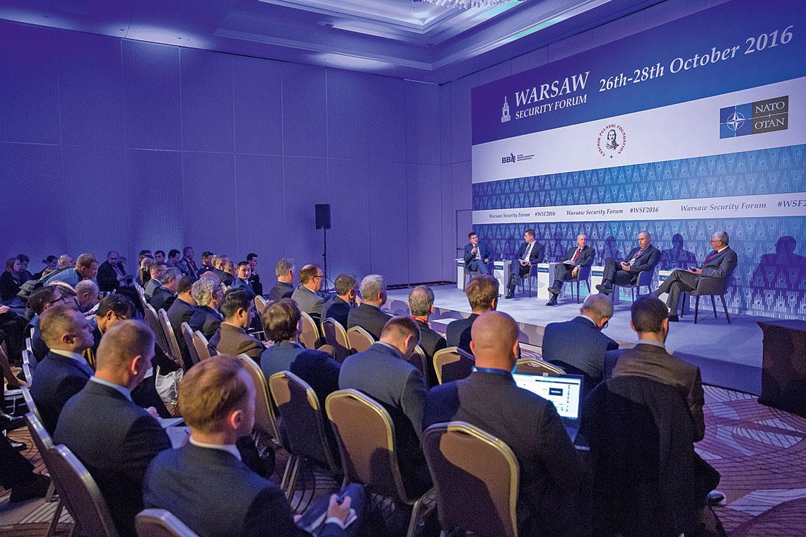 Warszawskie Warsaw Security Forum to obecnie jedna z najważniejszych konferencji związanych z sektorem bezpieczeństwa i obronności w Europie Środkowo-Wschodniej.