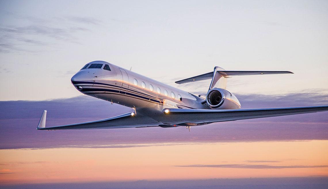 VIP-y bedą latać G550