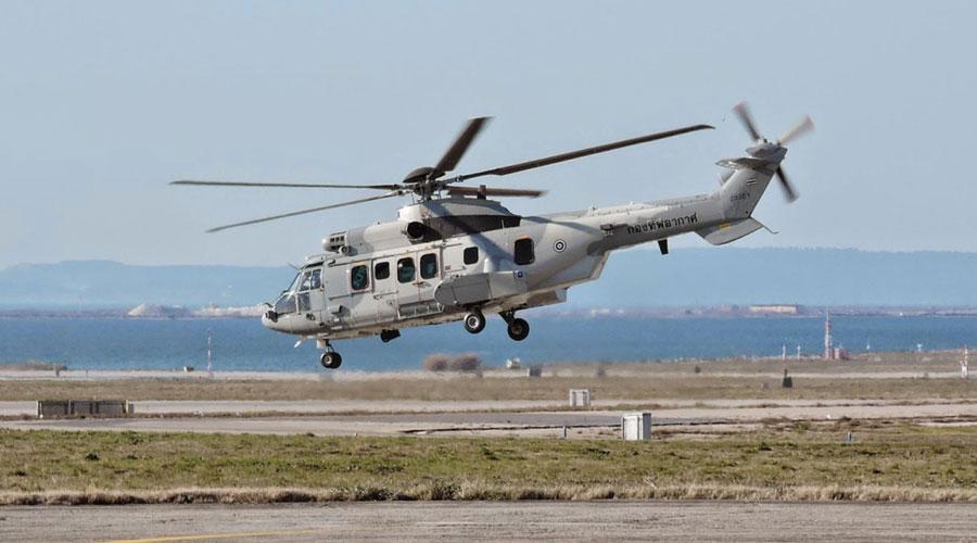 Tajlandia sukcesywnie kupuje kolejne H225M, do czterech już eksploatowanych dołączy do 2019 roku kolejna czwórka. Fot. Airbus Helicopters.