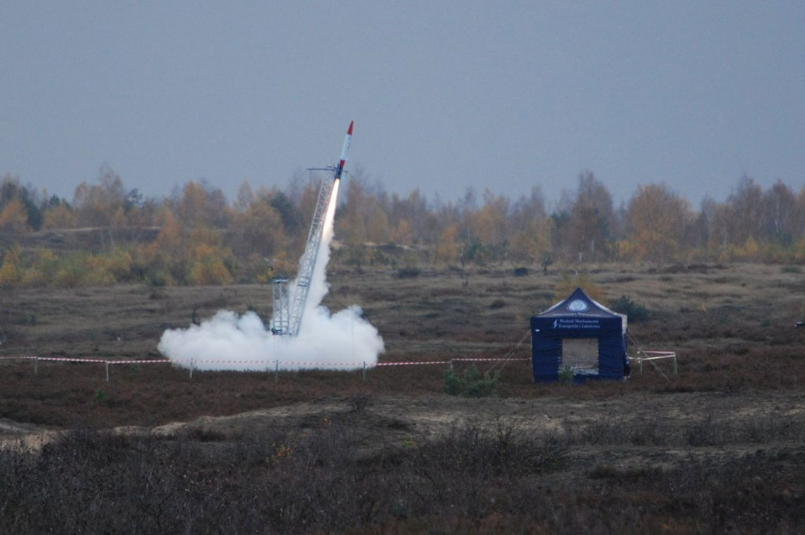 Studenckie próby rakietowe
