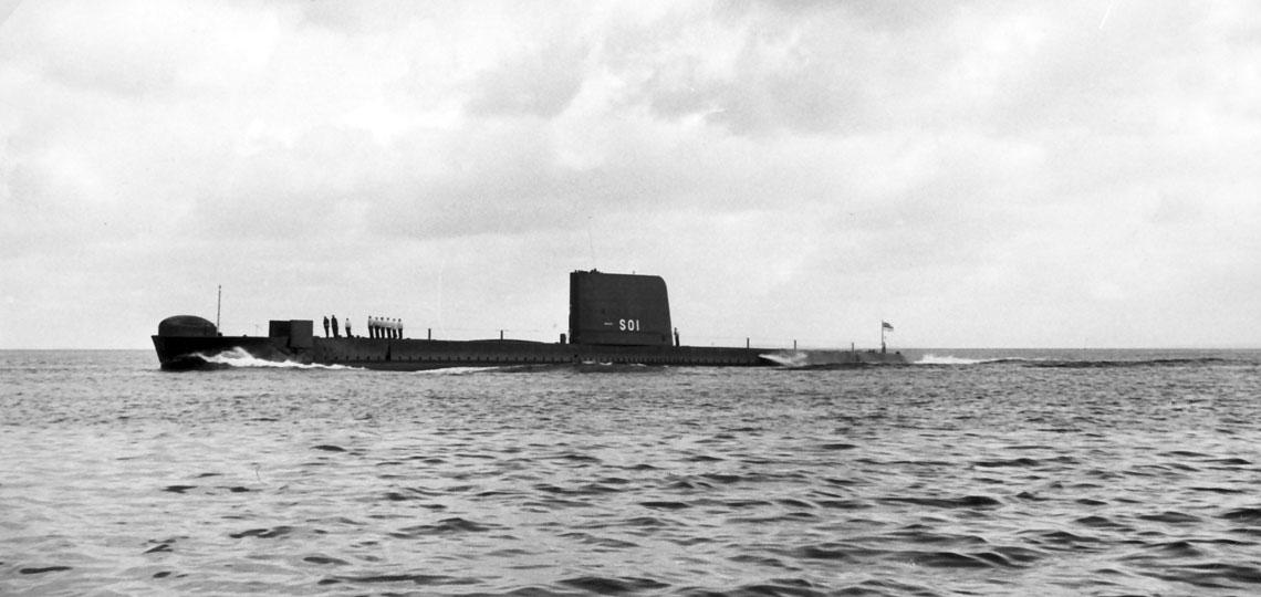 Prototypowy konwencjonalny okręt podwodny nowej generacji w Royal Navy – HMS Porpoise. Fot. Royal Navy