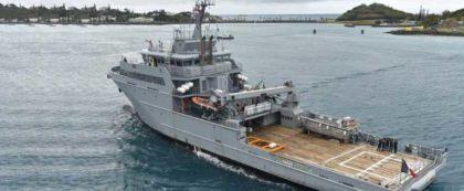 Okręt patrolowy typu B2M, znany także jako typ D'Entrecasteaux.